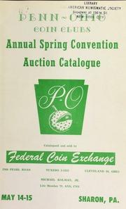 Penn Ohio coin clubs : 1955 spring convention. [05/14-15/1955]