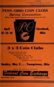 Penn Ohio coin clubs spring convention. [04/12-14/1957]