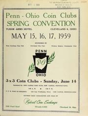 Penn Ohio coin clubs spring convention. [05/15-17/1959-06-14-1959]