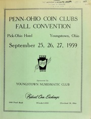 Penn Ohio coin clubs fall convention. [09/25-27/1959]