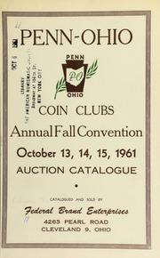 Penn-Ohio coin clubs : annual fall convention. [10/13-15/1961]