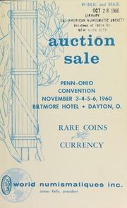 Penn-Ohio convention auction sale. [11/03-06/1960]