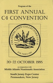 Program of the First Annual C4 Convention