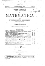 periodico di matematiche mathesis Compra periodico di matematiche spedizione gratuita su ordini idonei.