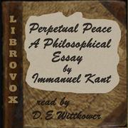 perpetual peace kant immanuel  perpetual peace