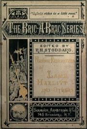 the personal essay hazlitt and lamb