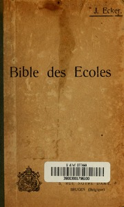 Petite Bible illustrée des écoles