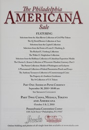 The Philadelphia Americana Sale: Part Two (pg. 97)