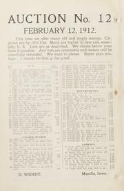 The Philatelic West: 1912