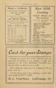 The Philatelic West: 1918