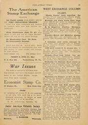 The Philatelic West: 1919