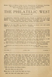 The Philatelic West: 1921