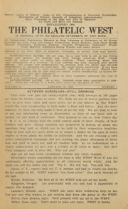 The Philatelic West: 1923