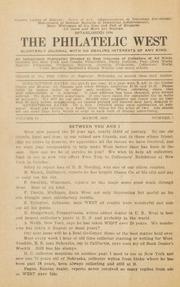 The Philatelic West: 1926