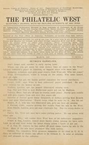 The Philatelic West: 1928