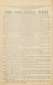The Philatelic West: 1929