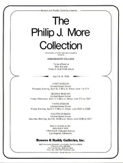 Philip J. More Collection