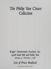 The Philip Van Cleave Collection