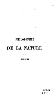 Philosophie de la nature de Hegel