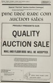 Pine Tree Rare Coin Auction Sales: Quality Auction Sales