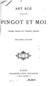 Pingot et moi: journal d-un officier d-artillerie