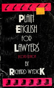 plain english for lawyers pdf free download