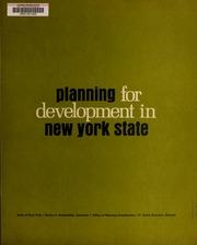 Planning for development in...