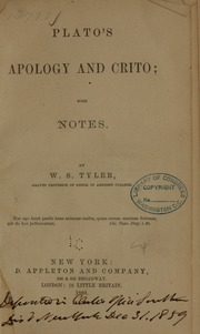 an analysis of the plato euthyphro crito and the apology Four texts on socrates: plato's euthyphro, apology, and crito and aristophanes' clouds by thomas g west - plato's euthyphro summary and analysis.