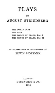an analysis of the concepts of hinduism in a dream play by august strindberg Dream interpretations dictionary: dreaming of winning, however, is a sign that luck will play a major role in the success of a project or enterprise 2.