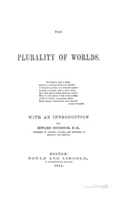the plurality of worlds essay Of the plurality of worlds: an essay also, a dialogue on the same subject (london, longmans, green, reader, and dyer, 1867.