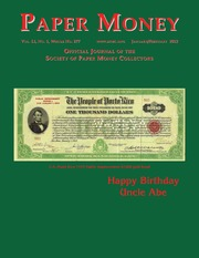 Paper Money (January/February, 2012)