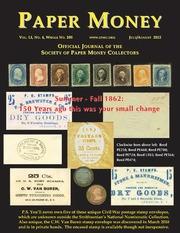 Paper Money (July/August, 2012)