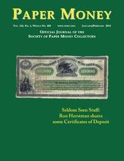 Paper Money (January/February, 2013)