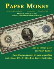 Paper Money (March/April, 2013)