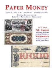 Paper Money (September/October, 2013)