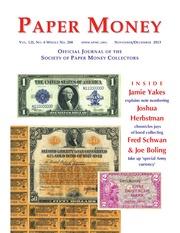Paper Money (November/December, 2013)