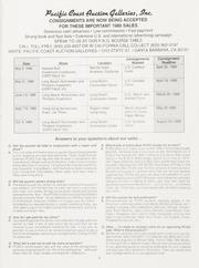 PNG Coin Convention Public Auction
