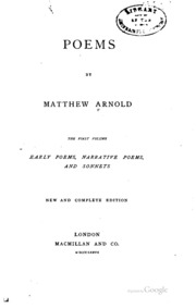 essays by matthew arnold including essays in criticism on  poems by matthew arnold