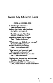 Poems My Children Love Best Of All
