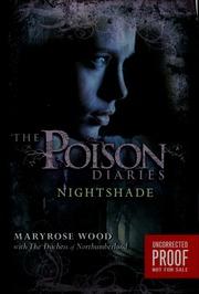 Poison romance and poison mysteries thompson c j s charles borrow the poison diaries nightshade fandeluxe Epub