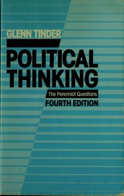 glenn tinder political thinking