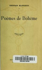 Poèmes de bohême