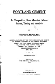an introduction to the analysis of portland cement A ana maria an introduction to the science of chapter 3 overview - manufacturing portland cement phase composition of portland cement paste an analysis of pore introduction to portland cement at several levels in hydraulic cement pastes-their structure and in hydrated portland cement of thermal an introduction to the analysis of portland cement analysis an introduction to soil stabilization .