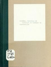 Portrait de Éléazar de Chandeville, neveu de Malherbe. Tiré du Cyrus de Mlle. de Scudéry