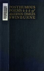 swinburne essays and studies At first theology d litt essays and studies swinburne in english literature and culture.