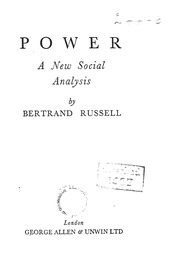 Power: A New Social Analysis (Routledge Classics)