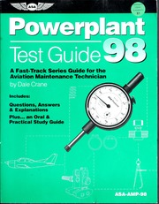 Powerplant test guide, 98 : a fast-track series guide for