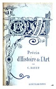 Précis d-histoire de l-art