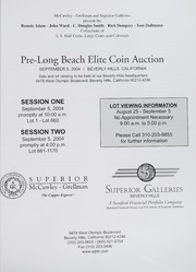 Pre-Long Beach Elite Coin Auction (pg. 6)