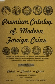 Premium Catalog of Modern Foreign Coins